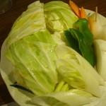 炭火焼肉 いろり - 焼き野菜
