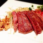 燦糺 - 黒毛和牛のサーロインステーキ