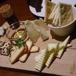 ランプライト - チーズ盛合せ