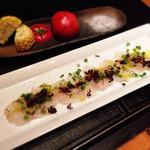 燦糺 - 鮮魚のカルパッチョ