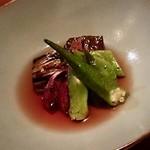 なかむら - 季節野菜煮びたし