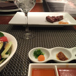 神戸プレジール - お肉の登場