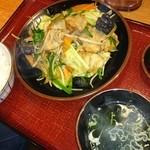 あじとら - 肉野菜炒め定食