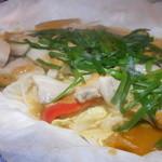 北の味紀行と地酒 北海道 - 豚の味噌鉄板焼き