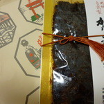 野村佃煮 - 昆布と椎茸、鰹の佃煮 お品を入れる袋も良いですね^^
