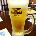 旬菜食健 ひな野 - 生ビールはプレモル