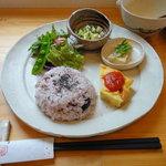 カフェ ソラノキ - オーガニックランチ大皿