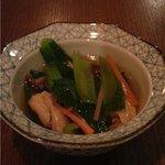 みつばち - 江戸菜ときつねの柚子胡椒おひたし