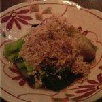 みつばち - 焼茄子と小松菜の生姜おひたし