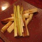 ソウテン - マコモ茸のバター焼き