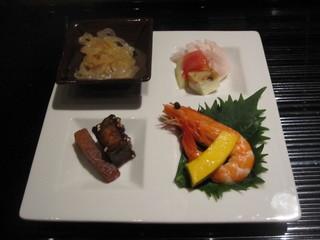 中国料理 カリュウ - 前菜