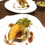 実松 - 前菜④ 茄子の田楽