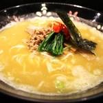 初代麺松 - ベジポタ豚骨醤油ラーメン