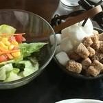 珈琲 蔵人珈蔵  - サラダ