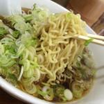 ○鐵二代目 - 麺はこちら細麺 と 太麺が選べます
