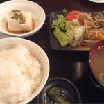 39226392 - 豚生姜焼き定食