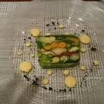 39227145 - 二十種類の野菜のテリーヌ