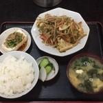 あい家 - 肉野菜炒め定食