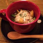 吉﨑食堂 - 地野菜のバーニャカウダ