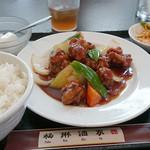 39228450 - 酢豚(黒酢)定食