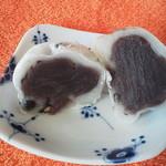 巣鴨 栄太楼 - 豆大福ー漉し餡