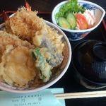 川善 - おまかせ天丼 870円