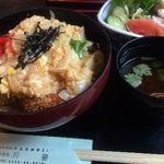 川善 - 特製かつ丼 870円