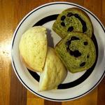 ジャムハウス - メロンパンと抹茶パン