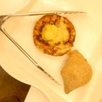 墨繪パン - ナポリのパンつぶあんとじゃがいもチーズクロワッサン