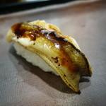 寿司茶屋 桃太郎 - 2015.06 穴子(200円)