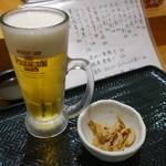 寿司茶屋 桃太郎 - 2015.06 生はプレモルでした。