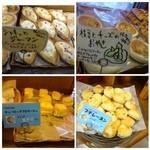 パルファン - 並べられたパン。