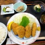 御藩亭 -  1-2牡蠣フライ