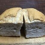 パン工房 いしがま - くるみパン断面