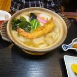 御藩亭 -  3.鍋焼きうどん