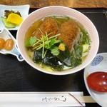 御藩亭 - 3-2牡蠣フライうどん