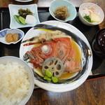 御藩亭 - 4-2金目のアラ煮