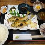 御藩亭 - 6-2 鮎塩焼き