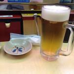 天下寿司 - 生ビール