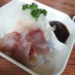 魚信 - 鯉の刺身