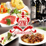 SYNC - 料理写真:様々なお料理と多彩なドリンク。お客様に少しでもくつろいで頂ける様おもてなしさせて頂きます。