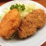 とんかつ 安右衛門 - メンコロ定食