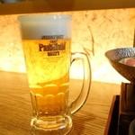 銀杏 - 2015年1月 生ビール中【580円】