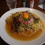 Cafe&Dining 旬 - ネギトロバター醤油・スパゲッティ