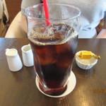 カフェ クルマ28 - アイスコーヒー