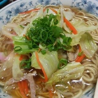 ドライブイン玉川 - 料理写真:玉川ちゃんぽん