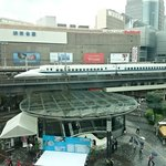 Skew - 窓から見える新幹線