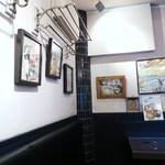 ブリティッシュ インディアン カフェ1930 - 店内1