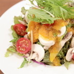 ベラボッカ - フレッシュマッシュルームとトマトのサラダ '15 5月中旬