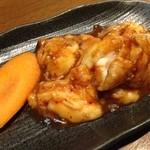 個室で焼肉食べ放題 焼肉虎至 - 2015.6.21 上ホルモン 680円 私の好物 味は並みかな?